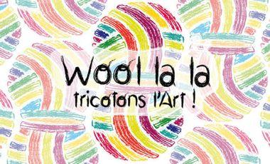 Visuel du projet Wool la la, tricotons l'Art !