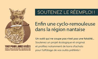 Visueel van project Le Lama fûté : un projet de cyclo-remoulage en région nantaise