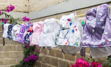 Visuel du projet Couches lavables et vetements adaptés en Dordogne