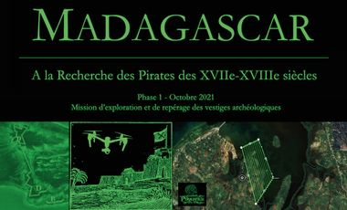 Visuel du projet A LA RECHERCHE DES PIRATES DES XVIIE-XVIIIE SIECLES Mission archéologique