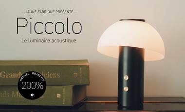 Project visual Piccolo, le luminaire acoustique