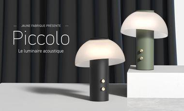 Visuel du projet Piccolo, le luminaire acoustique
