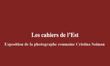 Project visual Galerie Les cahiers de l'Est