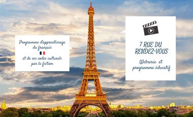 Visuel du projet Websérie d'apprentissage du français et de nos codes culturels