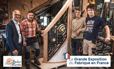 Visuel du projet Soutien à l'Atelier Saint-Martin - Grande Exposition du Fabriqué en France