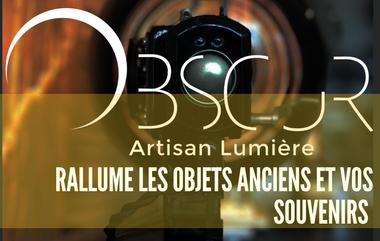 Project visual Obscur - Artisan Lumière
