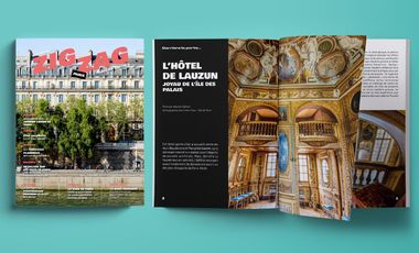 Project visual Zigzag le Mag n°3 !