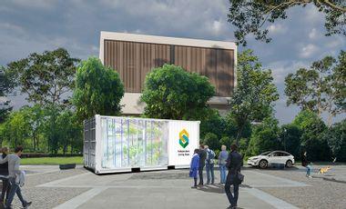 Visuel du projet Food Container ILB : la nouvelle solution d'agriculture urbaine indoor.