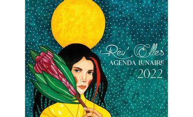 Visuel du projet Agenda lunaire Rêv'Elles 2022