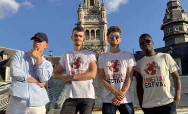 Visueel van project Le Connecting Festival, le festival de musique qui aide les élèves en difficulté
