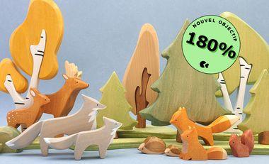Visueel van project Brin d'Ours, les jouets en bois français et éco-responsable