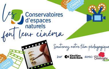 Visueel van project Les Conservatoires d'espaces naturels font leur cinéma