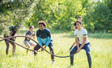 Visueel van project Léto Lété, le renouveau du sport en extérieur