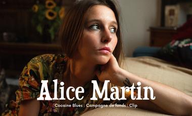 Visuel du projet Alice Martin - Cocaine Blues