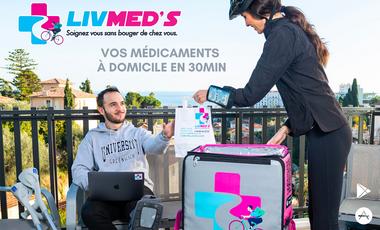 Visuel du projet Livmed's - Livraison de médicaments à domicile