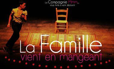 Visuel du projet La Famille vient en mangeant au Festival d'Avignon 2014