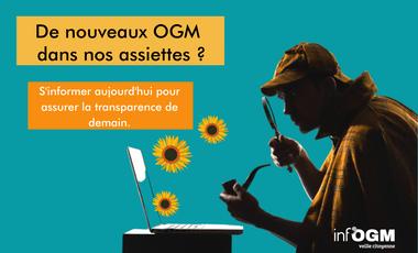 Project visual DE NOUVEAUX OGM DANS NOTRE ALIMENTATION ?