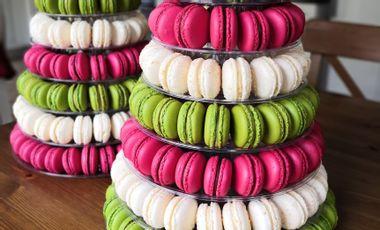 Project visual Aux macarons de Baillon