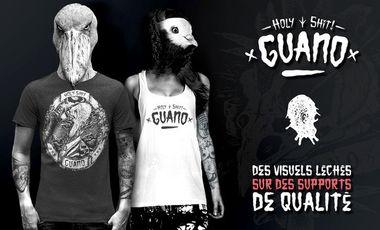Visueel van project Guano - Holy Shit Clothing