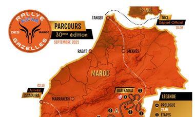 Visuel du projet Rallye des Gazelles 30 ieme éditions