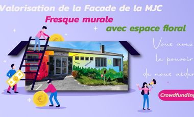 Project visual FLOR'ART à Lagarrigue