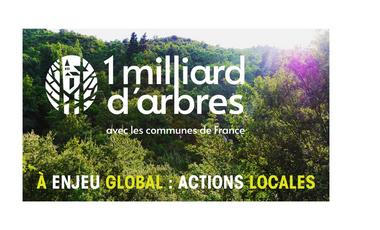 Visueel van project Agir pour le climat, plantons massivement en France !