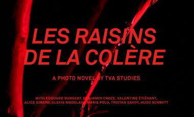 """Project visual """"Les Raisins de la colère"""", le roman-photo"""