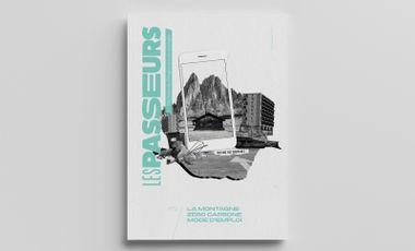 Project visual Les passeurs le Mag: le numéro 2 !