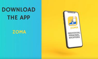 Visuel du projet Création application ZOMA pour les Shoppers