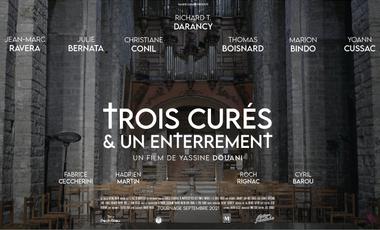 Visueel van project Trois Curés et Un Enterrement - Le film