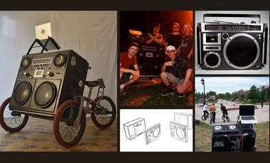 Project visual Vélo GhettoBlaster Genap Zoo Lu Nation