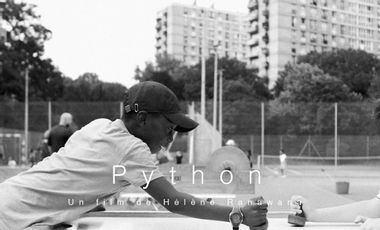 "Visueel van project COURT-MÉTRAGE ""PYTHON"""
