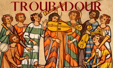 """Visueel van project EP """"TROUBADOUR"""""""