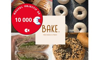 Visueel van project BAKE.