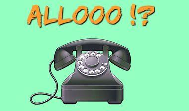 Visuel du projet Web série comique «Allooo?!»