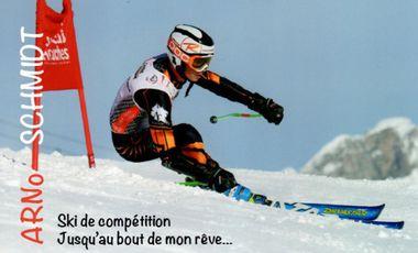 Project visual Ski de compétition - Jusqu'au bout de mon rêve !