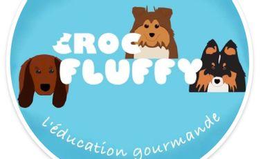 Project visual CROC FLUFFY, friandises 100% naturelles = éducation canine 100% bienveillante.