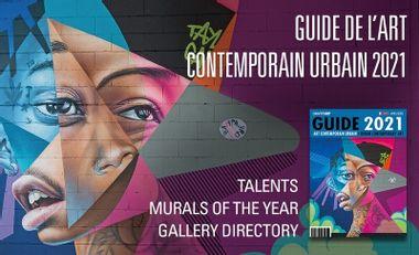 Project visual Le Guide de l'Art Contemporain Urbain 2021 par GraffitiART en préparation.