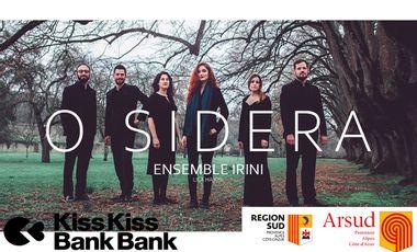Visuel du projet O SIDERA - Nouveau disque de l'Ensemble Irini !