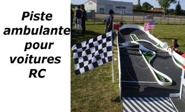 Visuel du projet Réalisation d'un circuit ambulant gonflable pour voitures RC