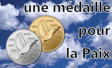 Project visual Une médaille pour la Paix !