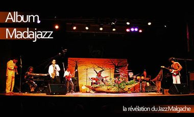 Visueel van project Production du 1er Album de Madajazz, Jazz Fusion Malgache