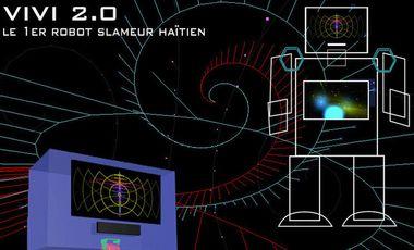 Visueel van project Vivi 2.0 Le Robot Slameur