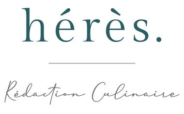 Visuel du projet HÉRÈS, Rédaction Culinaire