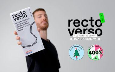 Visuel du projet Recto Verso : le point de départ de l'aventure en France