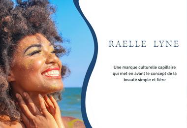 Visueel van project Raelle Lyne marque capillaire et culturelle