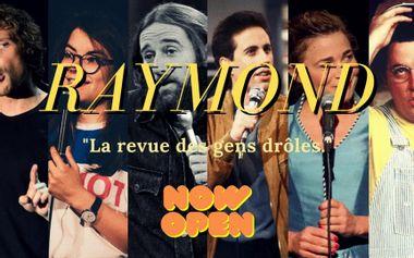 Visuel du projet RAYMOND - La Revue des Gens Drôles