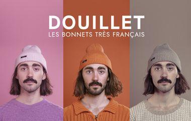 Project visual Douillet, les bonnets très français.