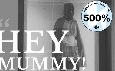 Visueel van project Hey Mummy! exposition