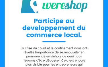 Project visual La relance du commerce local et géolocalisé